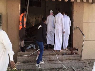 سعودی عرب: مسجد میں نماز جمعہ کے دوران خودکش دھماکہ، 4 افراد جاں بحق