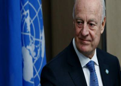 جنیوا مذاکرات کا آئندہ دور شام میں قیام امن کے لیے انتہائی اہم ہے:سٹافن دی مستورا