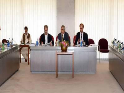 انتخابی اصلاحات کمیٹی کا اجلاس, آئینی ترامیم پر 90 فیصد کام مکمل ہوچکا : اسحاق ڈار