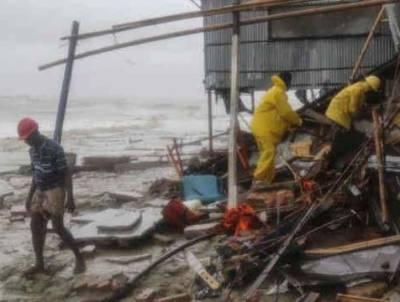 بنگلہ دیش میں سمندری طوفان نے تباہی مچادی ،کم ازکم 32 افراد ہلاک جبکہ ساڑھے چھہ لاکھ سے زیادہ بے گھر ہو گئے
