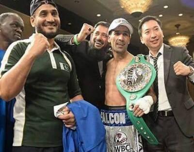 پاکستانی باکسر محمد وسیم نے فلپائنی مدمقابل کو شکست دے کر ورلڈ انٹرنیشنل پروفیشنل سلور ٹائٹل اپنے نام کر لیا