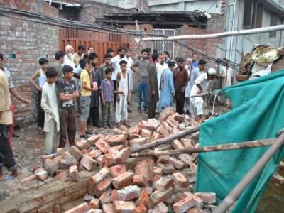 مون سون بارشیں جاری، لاہور میں چھتیں گرنے سے 3 بچوں سمیت 5 افراد جاں بحق، 6 زخمی
