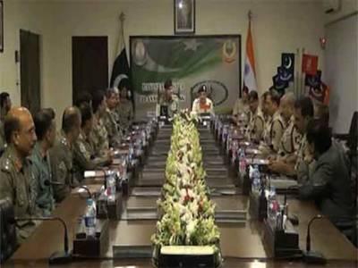 ورکنگ باؤنڈری پر دفاعی تعمیرات نہیں کی جائیں گی، پاکستان، بھارت سرحدی حکام کا اتفاق
