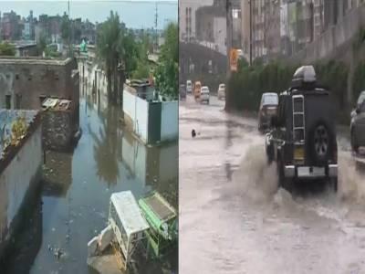 کراچی اور حیدرآباد میں بارش کے باعث حادثات میں 15افراد جاں بحق