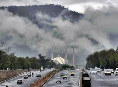 اسلام آباد اور راولپنڈی سمیت بالائی پنجاب، مالاکنڈ، ہزارہ ڈویژن، فاٹا، گلگت بلتستان اور کشمیر میں بارش کا امکان