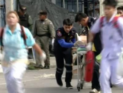 تھائی لینڈ میں بم دھماکے، 4 افراد ہلاک،متعدد زخمی , دھماکوں میں ثقافتی سیاحتی مقامات کو نشانہ بنایا گیا