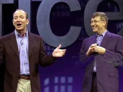 ٹیکنیکل صنعت کے 100 امیر ترین لوگوں کی فہرست جاری, بل گیٹس امیر ترین شخصیت, امازون کے بانی جیف بیزوس دوسرے ،فیس بک کے مارک زکر برگ تیسرے نمبر پر ہیں