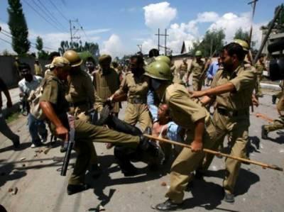 مقبوضہ جموں کشمیر میں چوتھے ماہ بھی مسلسل حالات کشیدہ ہیں، آج بھی متعدد جگہوں پر جھڑپوں اور مظاہروں کا سلسلہ جاری رہا