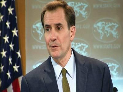 سرجیکل سٹرائیک کے سوال پر اظہار برہمی، بھارت سے پوچھا جائے : ترجمان امریکی خارجہ