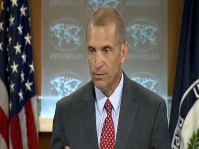 مقبوضہ کشمیر میں بھارتی مظالم سے متعلق پاکستانی دستاویزات کا جائزہ لے رہے ہیں:امریکہ