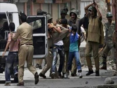 مقبوضہ کشمیر: بھارتی فوج کے نہتے کشمیریوں پر مظالم جاری , 50 سے زائد نوجوانوں گرفتار