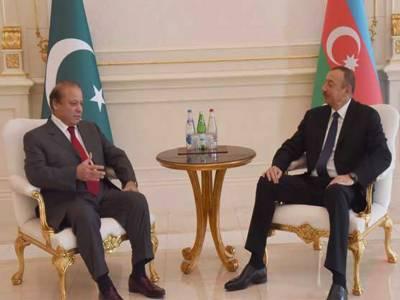 وزیراعظم کی آذربائیجان کے صدر سے ملاقات، دوطرفہ تعلقات اوراقتصادی شعبوں میں تعاون بڑھانے پراتفاق