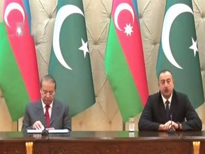 مسئلہ کشمیر پر پاکستان کے موقف کی مکمل حمایت کرتے ہیں:صدر آذربائیجان