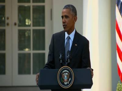 ٹرمپ بہانے بازی اور رونا دھو نا بند کریں:باراک اوباما