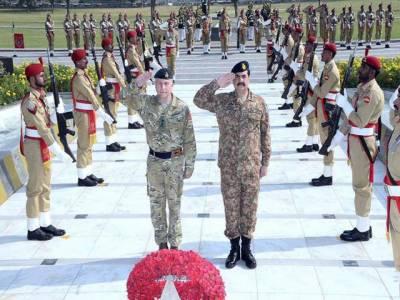 جنرل راحیل سے ملاقات، پاک فوج کی کامیابیاں قابل تعریف ہیں: سربراہ برطانوی فوج