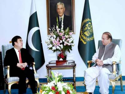 پاکستان، چین کا مستقبل مشترک ہے، اقتصادی راہداری سے خطے میں خوشحالی آئیگی: نواز شریف
