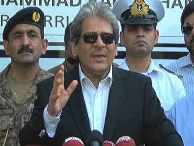 عزیز آباد سے پکڑا گیا اسلحہ فوج، رینجرز اور پولیس سے لڑنے کیلئے خریدا گیا: گورنر سندھ