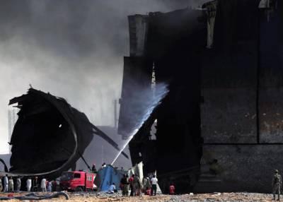گڈانی شپ یارڈ : آگ میں جھلسنے والے مزید تین مزدور دم توڑ گئے، جاں بحق ہونے والے مزدوروں کی تعداد پچیس ہو گئی