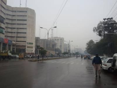 پنجاب کے مختلف شہروں میں موسم سرما کی پہلی بارش,خنکی بڑھ گئی,شہریوں نے لحاف اور گرم کپڑے نکال لئے