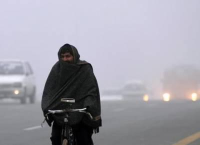 آئندہ چوبیس گھنٹوں کے دوران ملک کے بیشتر علاقوں میں موسم سرد اور خشک رہے گا