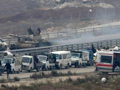 شامی حکومت نے حلب سے انخلا معطل کر دیا