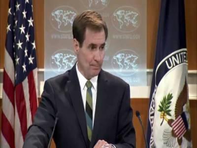 سندھ طاس معاہدہ امن تعاون کی مثال، پاکستان اور بھارت معاملہ مذاکرات سے حل کریں: امر یکہ
