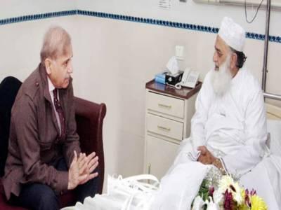 وزیراعلیٰ پنجاب کی بغیر پروٹوکول نجی ہسپتال آمد، مولانافضل الرحمن کی عیادت کی