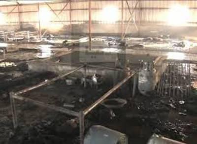 لاہور: کنسٹرکشن کمپنی کے عارضی دفتر میں آگ لگنے سے سات افراد جاں بحق, ایک کی حالت سے تشویشناک
