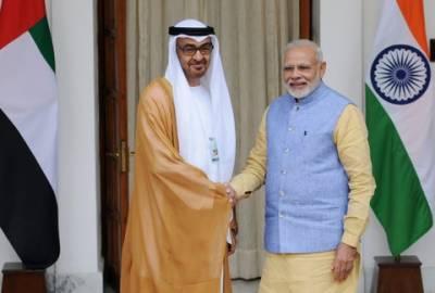 بھارت اور متحدہ عرب امارات کے درمیان تعاون کے 16 معاہدوں کی منظوری