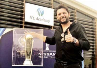 چیمپیئنز ٹرافی واحد ایونٹ جو پاکستان نے ابھی تک نہیں جیتا:شاہد آفریدی