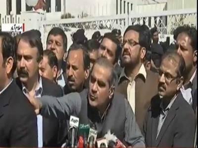 ہمارا میڈیا ٹرائل عمران خان ،شیخ رشید اورسراج الحق کرتے ہیں, یہ جو کھیل کھیلا جارہاہے یہ مناسب نہیں: سعد رفیق