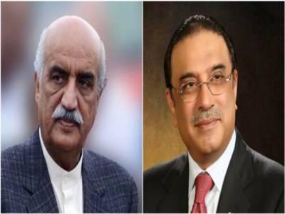 زرداری سے خورشید شاہ کی ملاقات، سیاسی صورتحال، فوجی عدالتوں سمیت اہم معاملات پر گفتگو