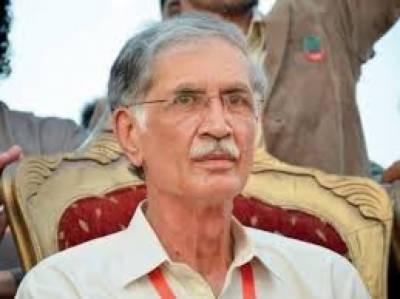 وزیراعلی خیبرپختونخوا پرویز خٹک نے پشاور زلمی کیلئے دو کروڑ روپے انعام کا اعلان کردیا