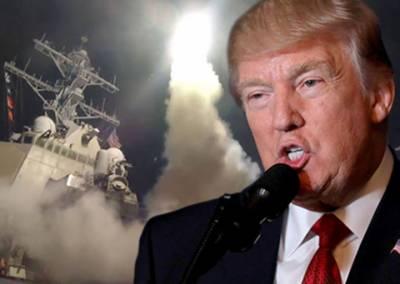 جی بی یو 43 بم گرانے کامشن کامیاب رہا : امریکی صدر ٹرمپ