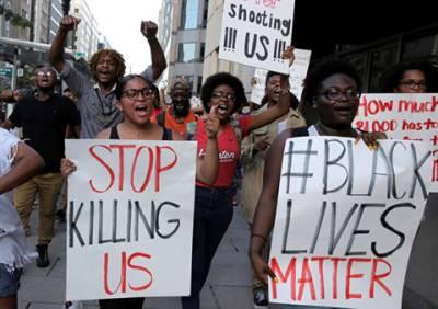 امریکہ میں سیاہ فام کے قتل پر سفید فام پولیس افسران پر مقدمہ نہ چلانے کے فیصلہ