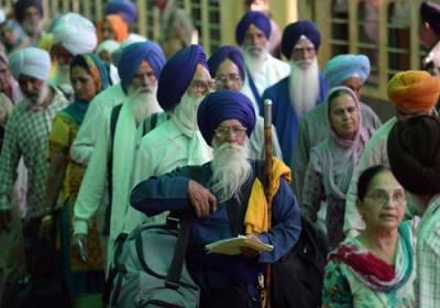 بھارت کا سکھ یاتریوں کو پاکستان آنے کی اجازت دینے سے انکار
