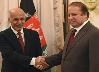 وزیراعظم نواز شریف کی افغان صدر سے ملاقات