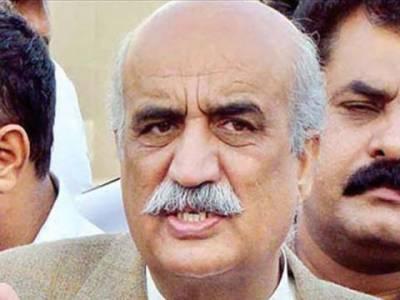 الیکشن کمیشن نے خورشید شاہ کے خلاف زمین پر قبضے سے متعلق درخواست مسترد کر دی
