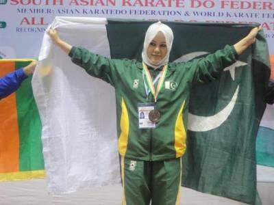 پاکستان کی ایک بیٹی نے عالمی سطح پرملک کا نام روشن کردیا