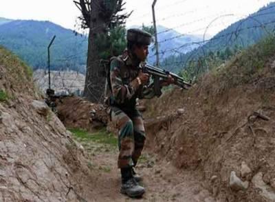 نکیال سیکٹر پر بھارتی فوج کی بلا اشتعال فائرنگ، خاتون سمیت 3 زخمی,پاک فوج کا منہ توڑ جواب