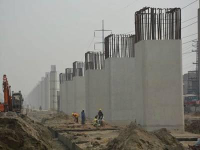 لاہور اورنج لائن میٹرو ٹرین منصوبہ رواں سال دسمبر تک مکمل ہو جائے گا