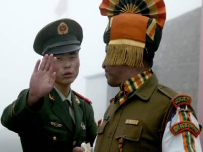 بھارتی اورچینی افواج کے درمیان مختصر ٹکراﺅ،کشیدگی میں اضافہ