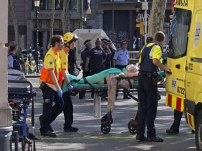 بارسلو نا :نامعلوم شخص نے وین راہگیروں پر چڑھادی، 13 افراد ہلاک'50سے زائد زخمی