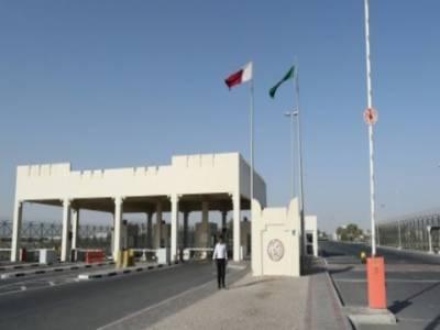 قطر کا سعودی عرب کی جانب سے سرحد کھولنے کا خیر مقدم