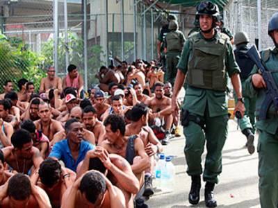 وینزویلا کی جیل میں سیکیورٹی فورسز کی کارروائی میں 37 قیدی ہلاک