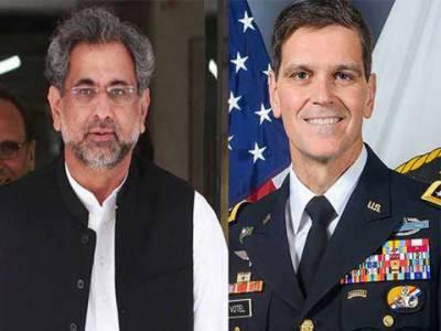 افغانستان میں امن پاکستان کیلئے بہت ضروری ہے:وزیراعظم کی جنرل ووٹل سے گفتگو