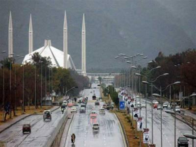 اسلام آباد اور راولپنڈی میں موسلادھار بارش, نظام زندگی درہم برہم