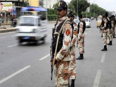 کراچی :رینجرز کا سرچ آپریشن ، 4 ٹارگٹ کلر گرفتار