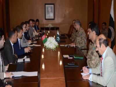 پاکستان میں دہشتگردوں کی پنا ہ گاہیں نہیں، بلا امتیاز کاروائیاں کیں، الزام تراشی کی بجائے تعاون چاہئے: آرمی چیف