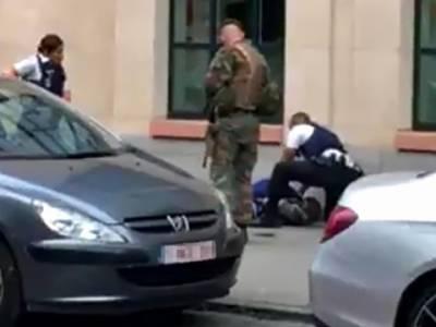 برسلز میں سیکیورٹی فورسز پر حملہ، فائرنگ میں حملہ آورہلاک
